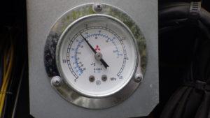 冷凍庫フロンガス漏れ点検